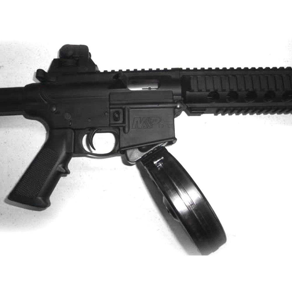 Black Dog Machine S&W M&P 15.22 50 Round Drum - RW Arms