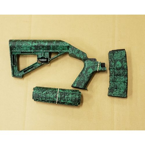 SBS – Bump Fire Stock and Hand Guard Kit – Hydro Dipped