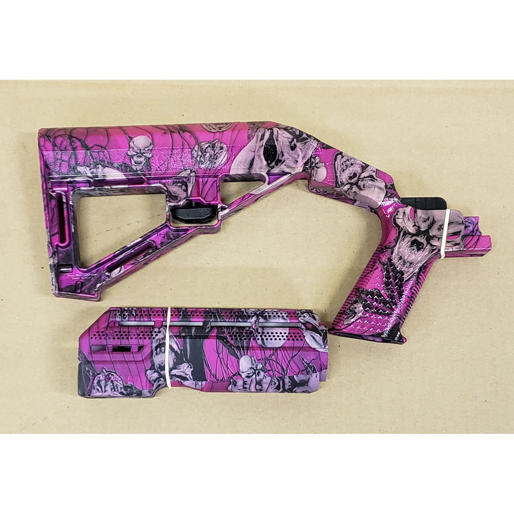 SBS Bump Fire Stock and Hand Guard – Hydro Dipped