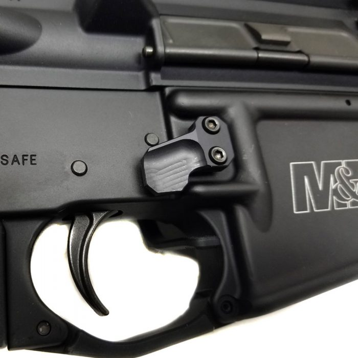 Extended Tactical Magazine Release Button