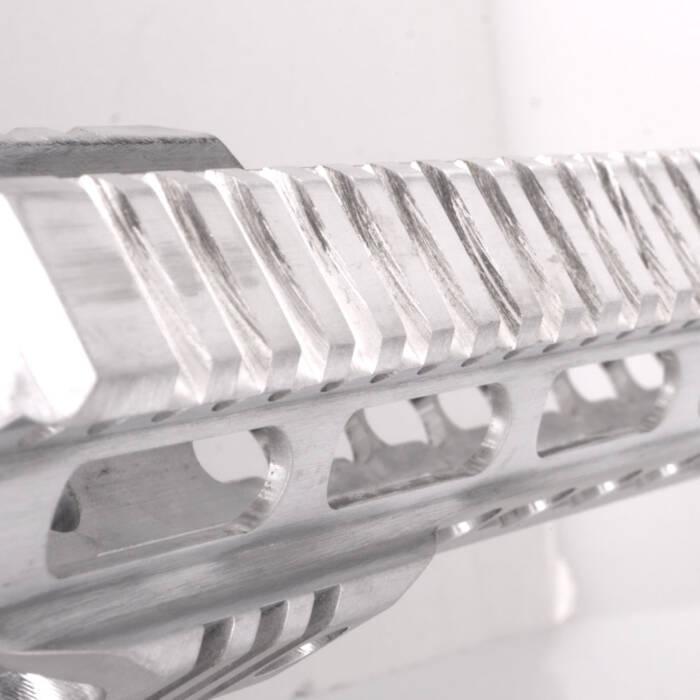 Closeup of RW Arms AR-15 handguard pro