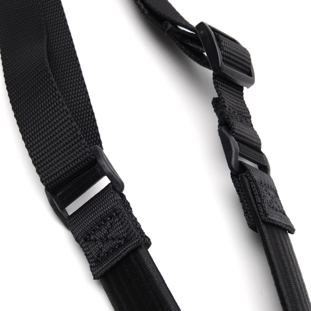 Closeup of Sling Tactical sling in black