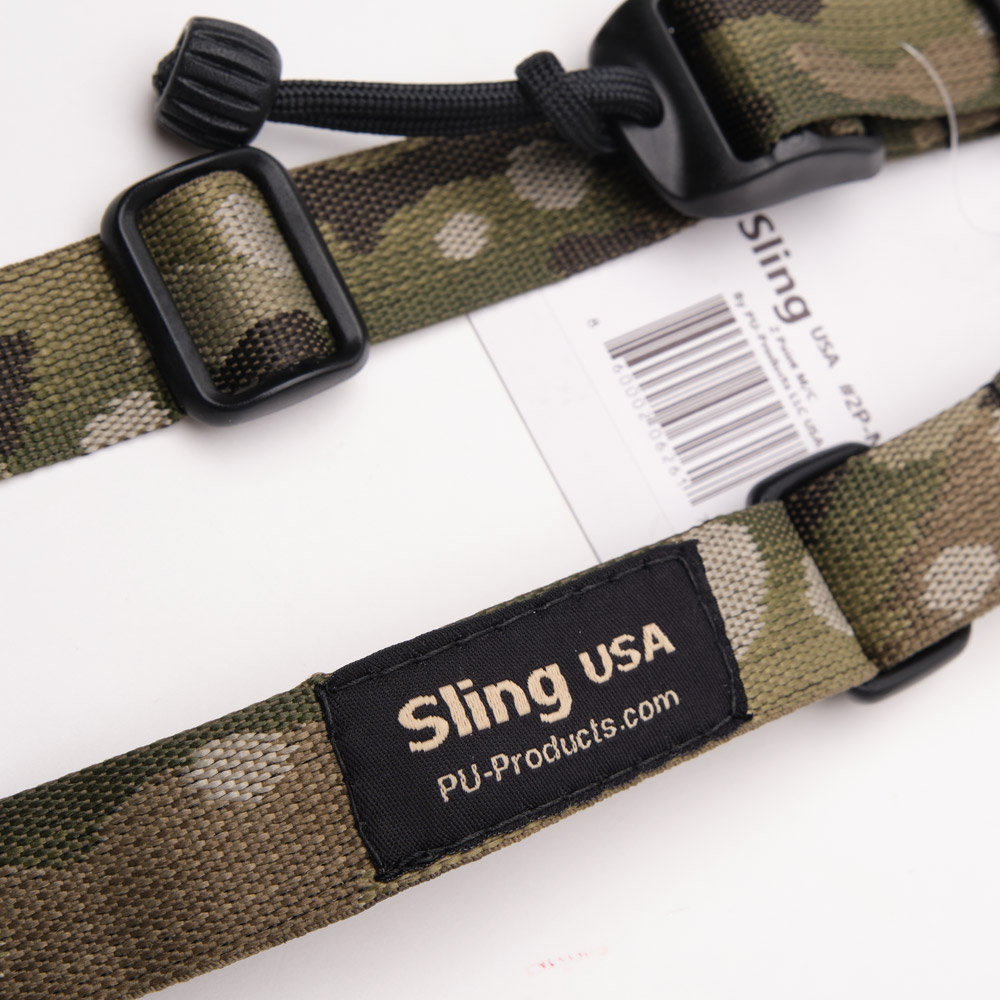 Closeup photo of Sling Tactical sling in camo