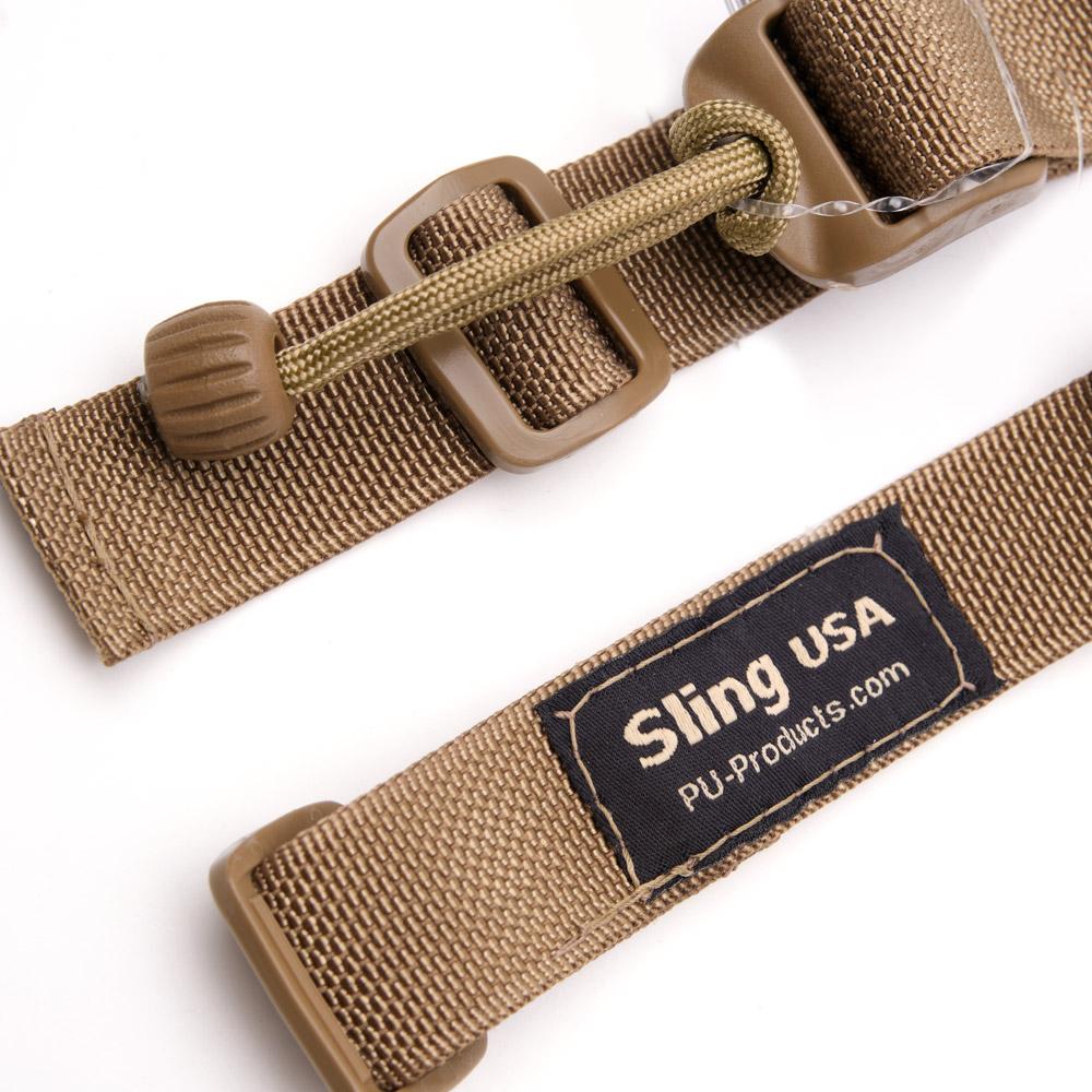 closeup of Sling Tactical sling in flat dark earth