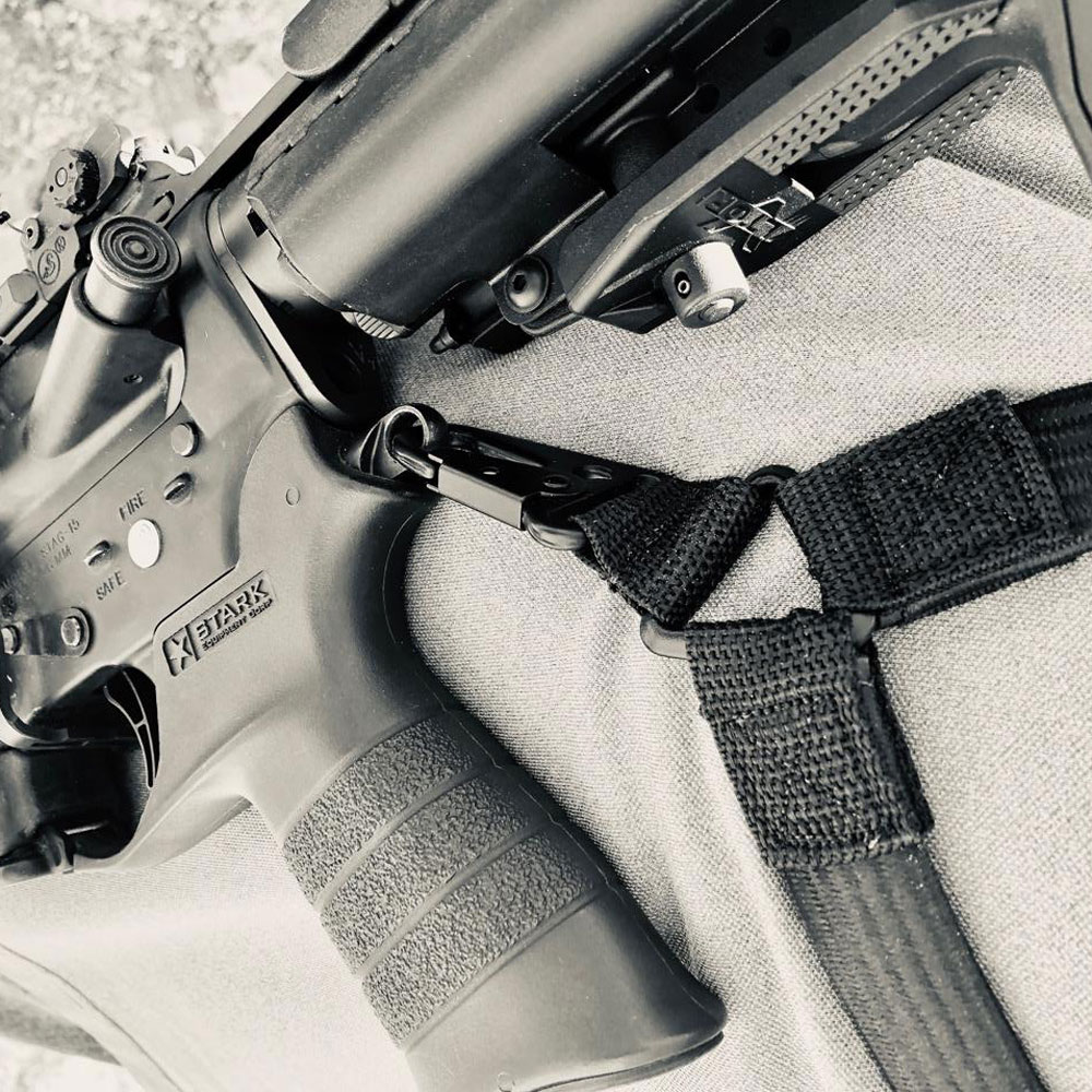Closeup photo of Sling Tactical sling in black