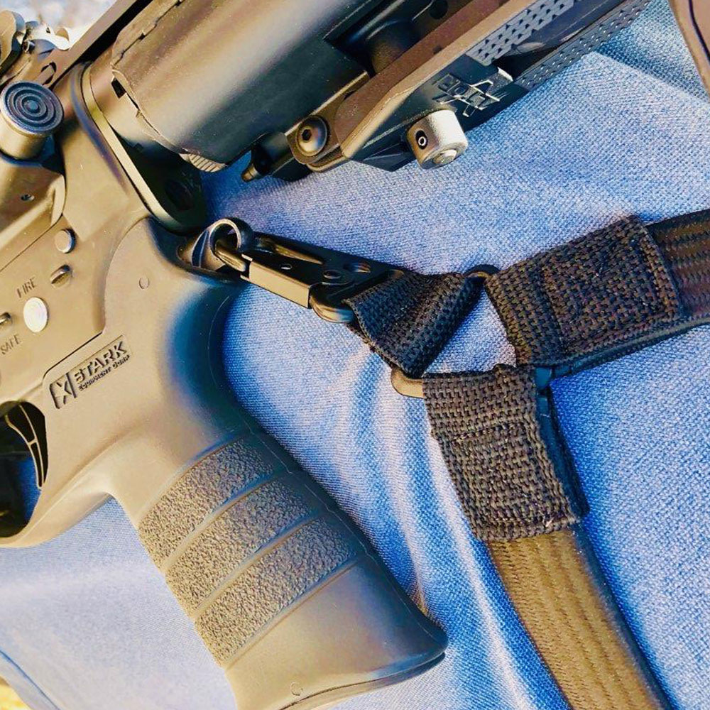 Closeup photo of Sling Tactical sling in flat dark earth