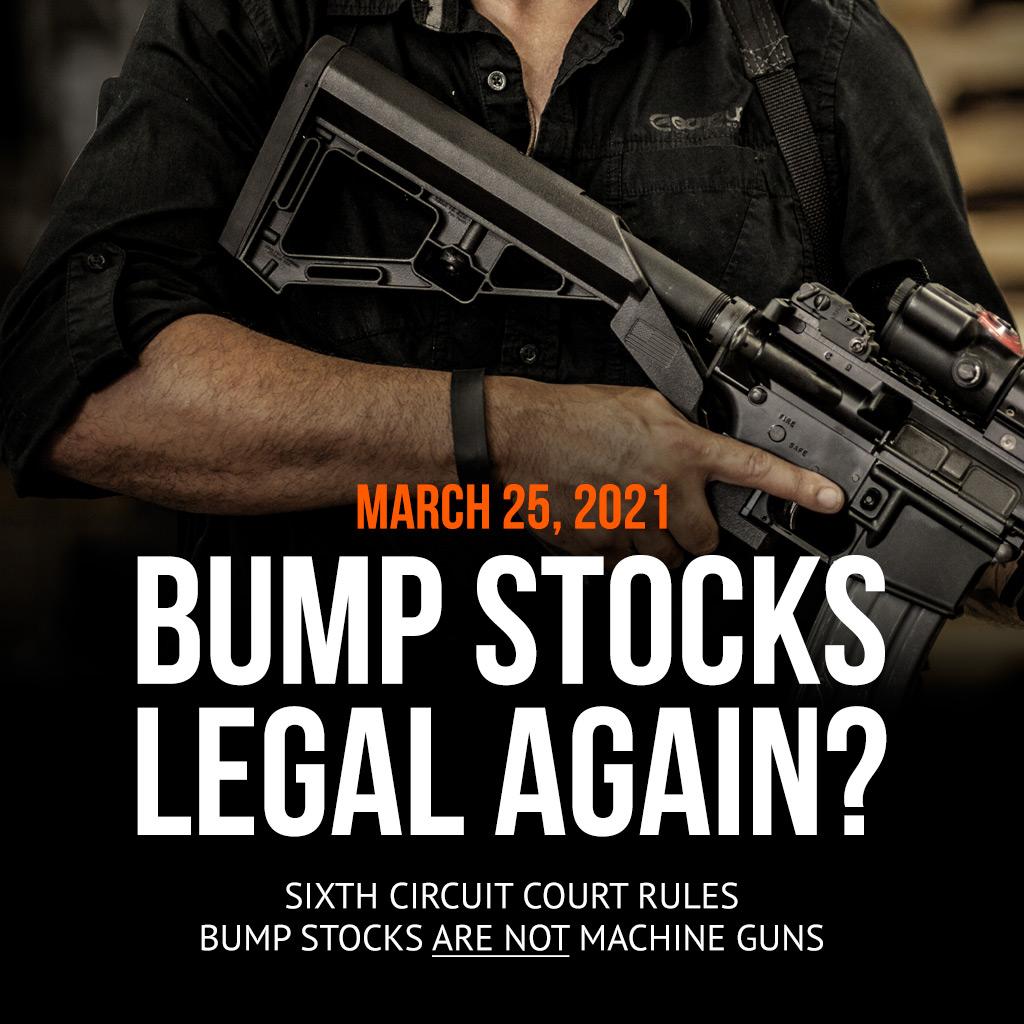 Are Bump Stocks Legal Again
